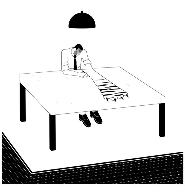 300 ilustraciones en La Vanguardia.
